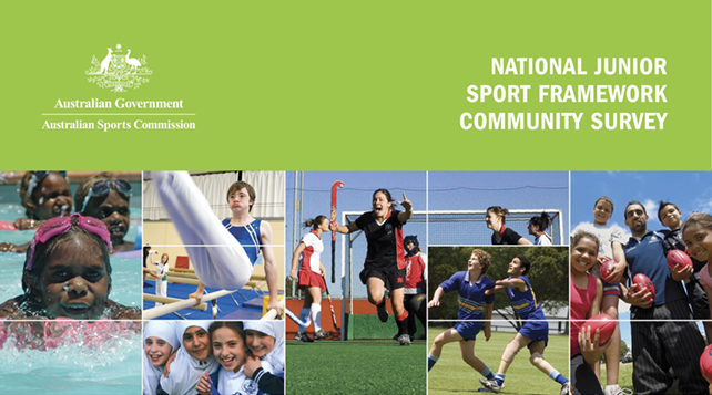 National Junior Sport Framework Community Survey
